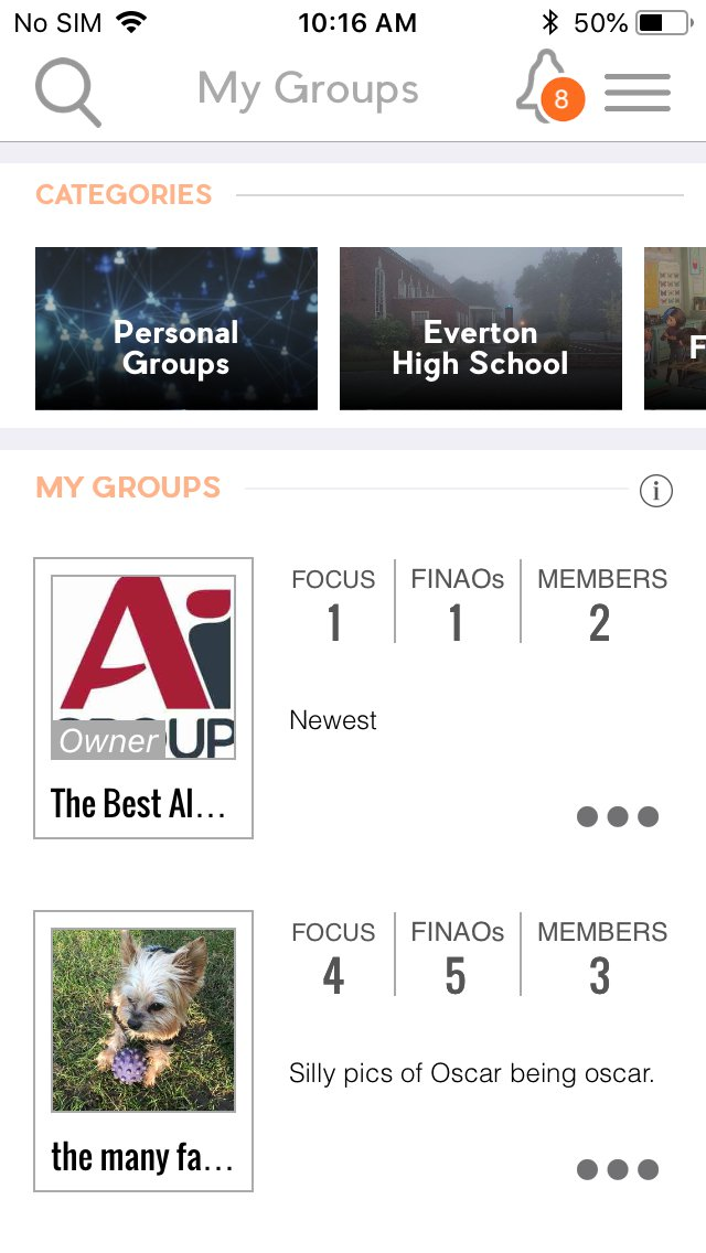 Personal & School Groups