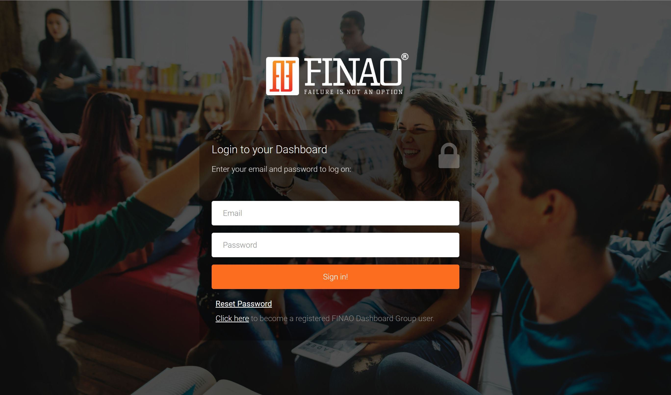 A Dashboard that Complements the FINAO APP
